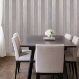 76056 Striped Rose Metallic textured Stripes Wallpaper
