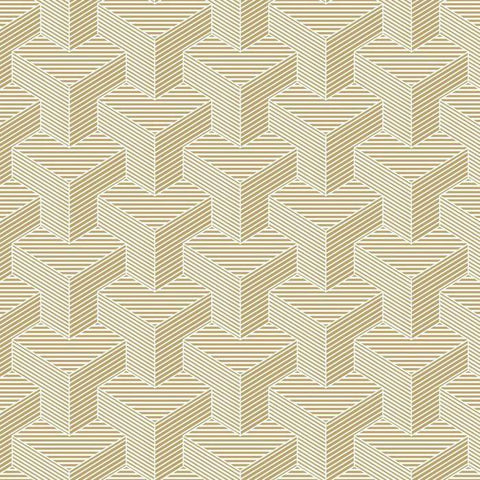 SW7463 Hexahedron Sure Strip Wallpaper - wallcoveringsmart