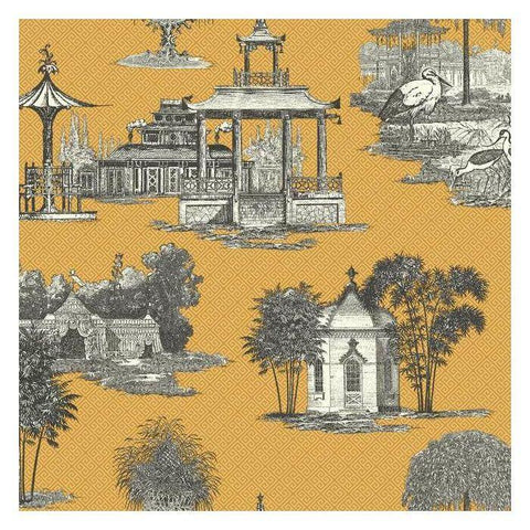 AF1916 Mandarin Dream Sure Strip Wallpaper - wallcoveringsmart