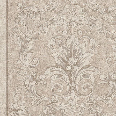 96216-3 Beige Off-white Wallpaper - wallcoveringsmart