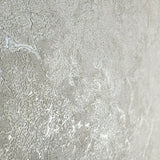 8597-06 Ivory off white faux stone plaster cracks Plain Textured Wallpaper