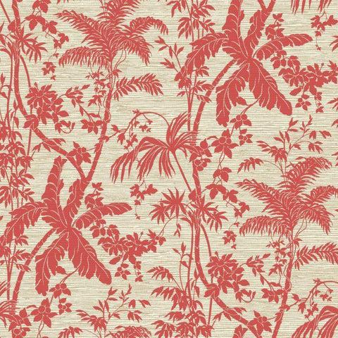 AT7110 Palm Shadow Sure Strip Wallpaper - wallcoveringsmart