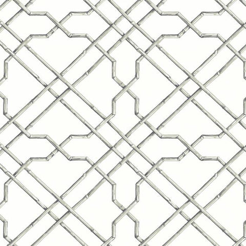 AB1821 Bamboo Trellis Sure Strip Wallpaper