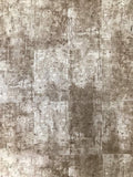 5559-13 Modern Rustic Concrete Metallic Stone Taupe Beige Wallpaper roll