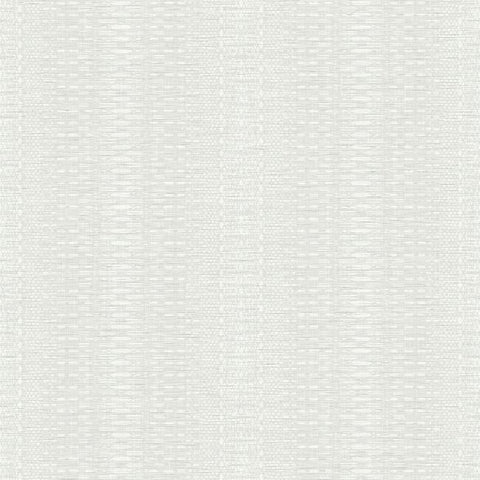 FH4014 York Market Stripe Pattern White Plain Farmhouse Wallpaper