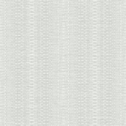 FH4015 York Market Stripe Pattern Off White Plain Farmhouse Wallpaper