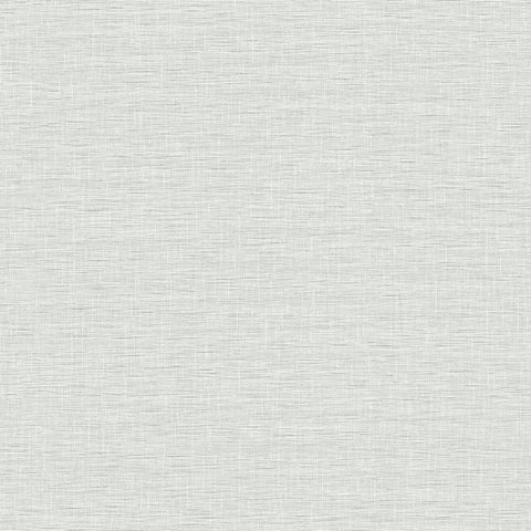 FH4060 York Silk Linen Weave Rustic Farmhouse Gray Plain Wallpaper
