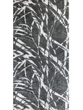 300007 Wallpaper Grey Black Silver metallic Abstract animal faux fur Textured