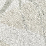 300002 Silver Tropical White Grey Wallpaper