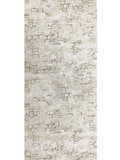 C895-01 Brown Green Brick Stone Concrete plaster Wallpaper