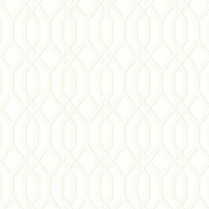 SW7500 White Garden Pergola Wallpaper