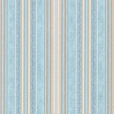 5531-03 Blue Beige Striped textured Modern Wallpaper