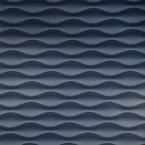 WM3170201 Wave lines 3D illusion navy blue Wallpaper