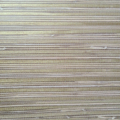 WMSR21030301 Faux grasscloth bronze cream tan gold Wallpaper
