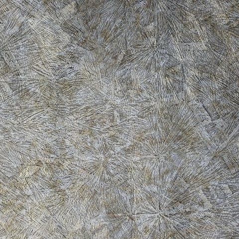 Z44530 Zambaiti Bronze Brass gray gold metallic Crushed metal textured Wallpaper