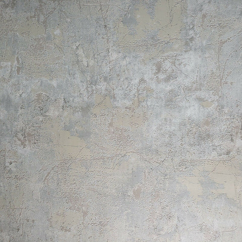 Z44546 Zambaiti Industrial green grey rusted Plaster Concrete Textured wallpaper