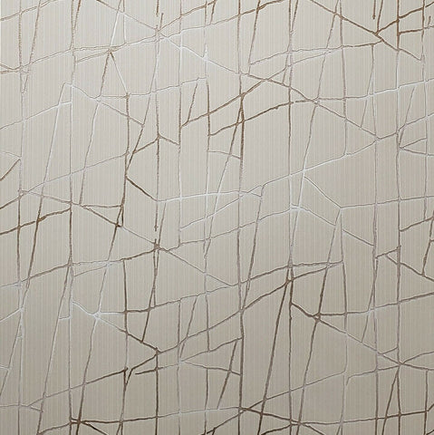 Z44553 Zambaiti beige tan cream gold metallic Textured abstract lines 3D Wallpaper
