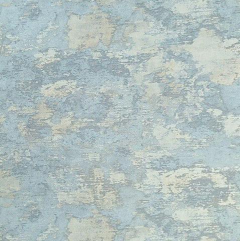 Z44902 Zambaiti Blue Gray beige cream faux vintage plaster Wallpaper