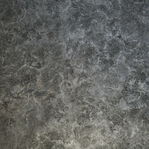 Z72031 Zambaiti black silver metallic faux cement concrete plaster wallpaper