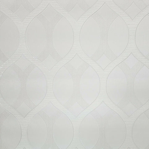 Z72035 Zambaiti Ogee White diamonds textured lines Geometric 3D Wallpaper