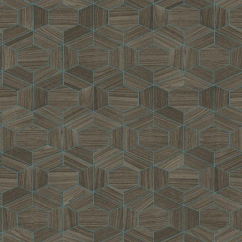 42031 Ligna Hive Wallpaper - wallcoveringsmart