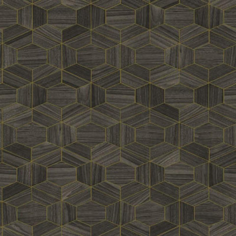 42035 Ligna Hive Wallpaper - wallcoveringsmart