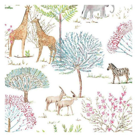 KI0542 On The Savanna Prepasted SureStrip Wallpaper