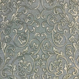 8536-04 Mint Green Gold Floral Wallpaper