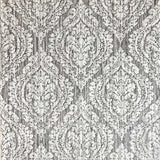 5527-10 Wallpaper gray rustic textured ogree diamond vintage damask