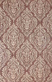 5527-13 Wallpaper burgundy rustic textured Victorian ogree diamond vintage damask