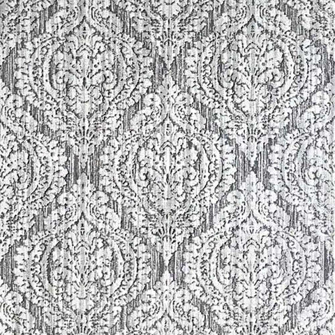 5527-10 Wallpaper white gray rustic textured ogree diamond vintage damask rusted texture