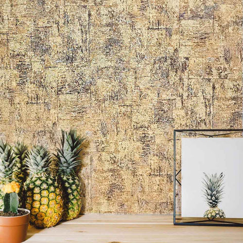 3537-05 Cork Print Textured wallcoverings