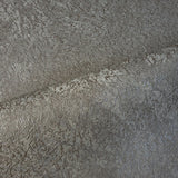 8607-07 Taupe brown bronze metallic Plain faux plaster Wallpaper