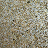 P4200 Modern gold metallic Big Chip Natural Real Mica Stone Wallpaper Plain
