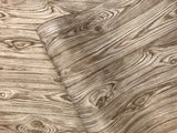 V319-12 Wallpaper Brown gold rustic wood planks boards textured
