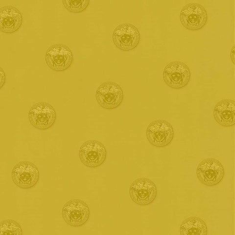 34862-4 Versace Vanitas Motif Gold Wallpaper