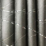 Y6201405 Grey Charcoal Metallic Wave Wallpaper