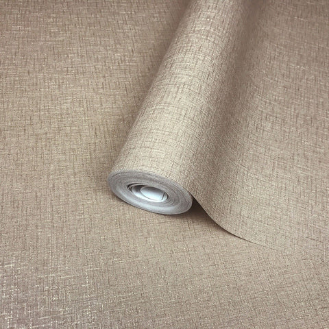 L488-12 Wallpaper mocha beige gold metallic stria lines Plain Textured