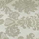 75709 Damask Faux Grasscloth Texture Cream Wallpaper