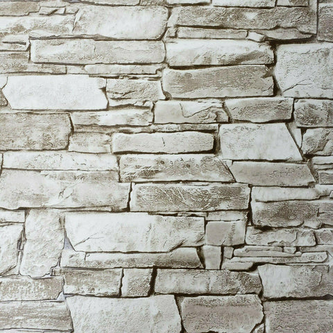 5547-01 Wallpaper textured brown modern wallcoverings faux stone textures 3D - wallcoveringsmart
