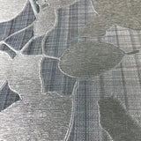 135012 Gray Silver Metallic Leaves Wallpaper - wallcoveringsmart
