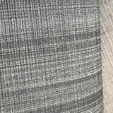 135022 Gray Stria Ombre Plaid Lines Striped Textured Wallpaper - wallcoveringsmart