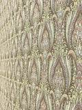 3505 Tribal Moroccan India Style Olive Wallpaper
