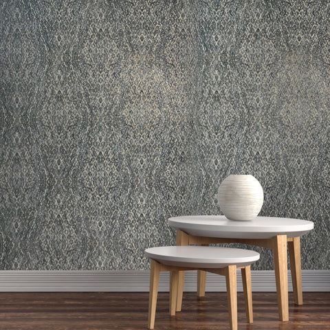 V508-03 Kaleidoscope Green Gold Wallpaper