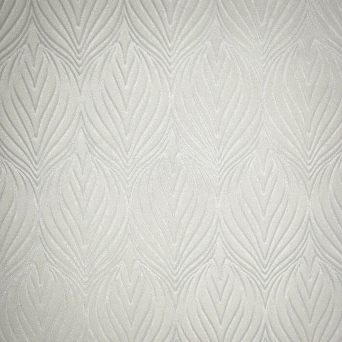 Z41211 Zambaiti quadrille lotus damask cream off white metallic faux fabric Wallpaper