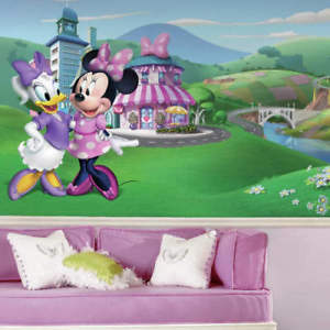 JL1437M Minnie Mouse Happy Helpers Mural