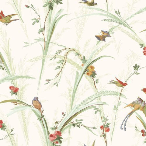 MEA19321 Cheshire Green Meadowlark Trail Wallpaper