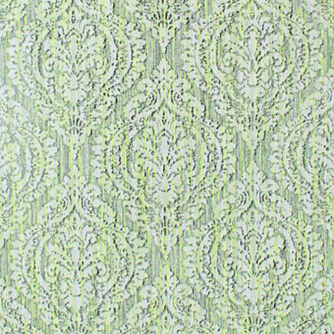 5527-04 Wallpaper green Textured rustic diamond ogree vintage damask