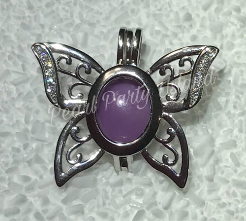 BUTTERFLY Cabochon Cage