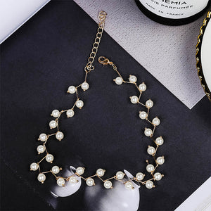 Pearl Vine Necklace
